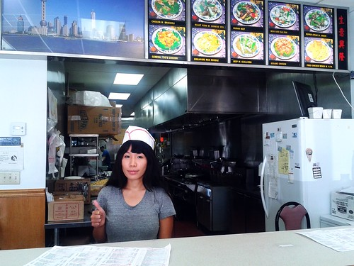 Ana hired at China Wok (Sept 29 2013)