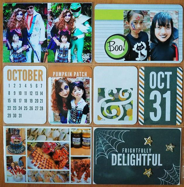 halloween 2013, halloween, we r memory keepers