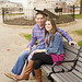 Federal Hill Engagement Photoshoot