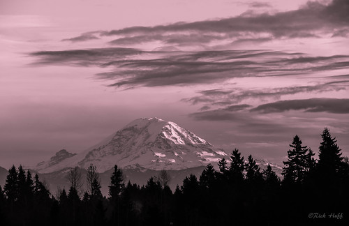 blackandwhite mountains washington mountrainier