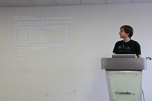 Phil Norton (Access technical lead) on Jenkins