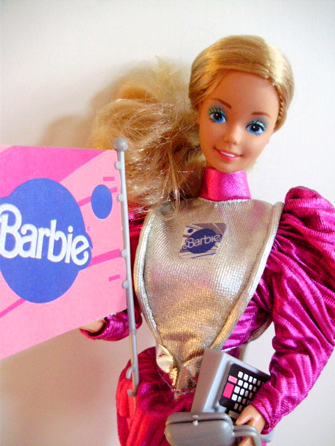 Astronaut Barbie 1985