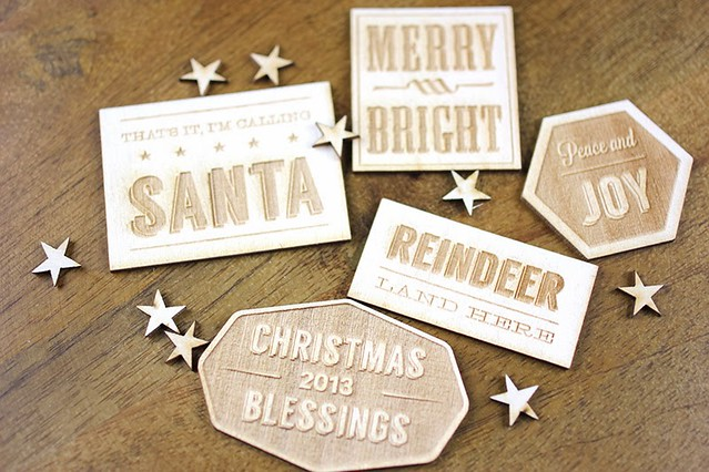 CTK Christmas Badges