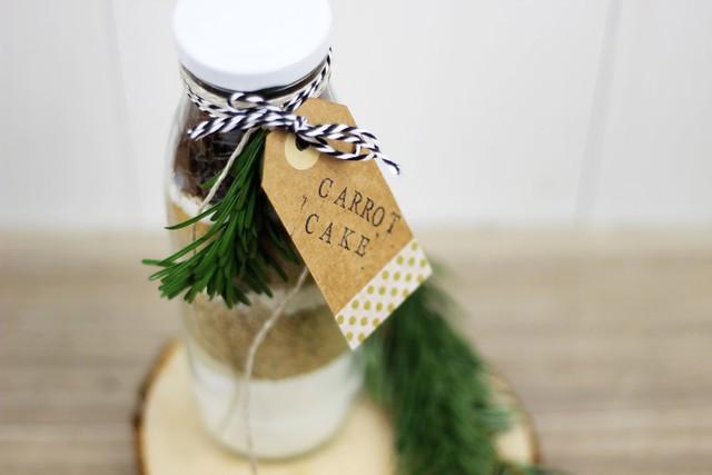 DIY: Kuchen in the bottle
