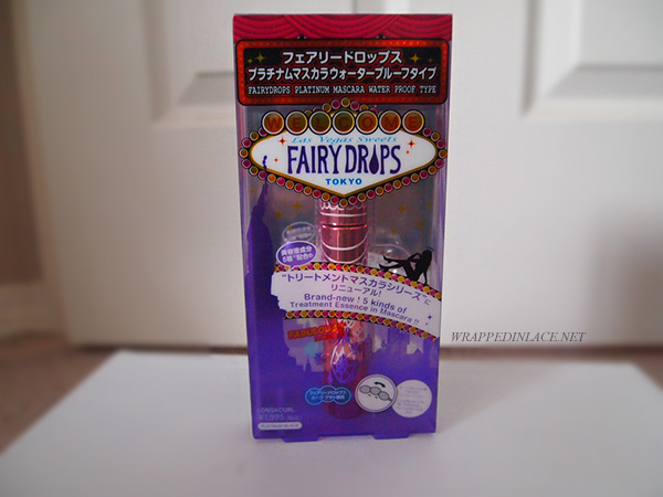 Fairy Drops Platinum Mascara (Waterproof Type) Review