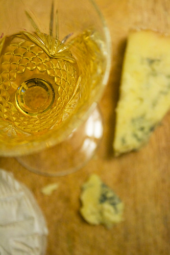 royal tokaji with stilton