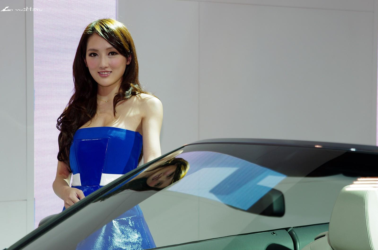 2014年車展拍人