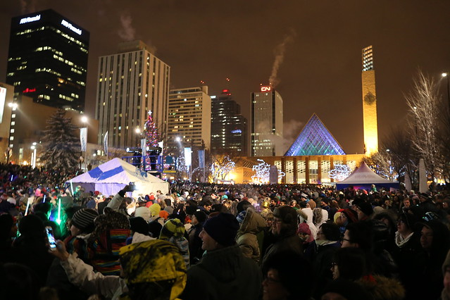 Happy New Year Edmonton!