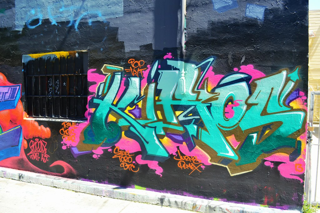 KIROS, Graffiti, San Francisco, Street Art