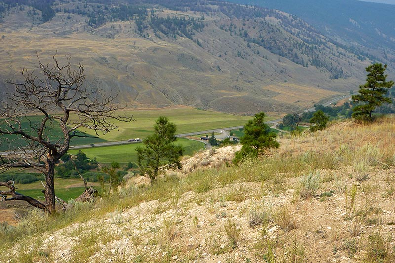 Outskirts of Cache Creek, Thompson Okanagan, British Columbia, Canada