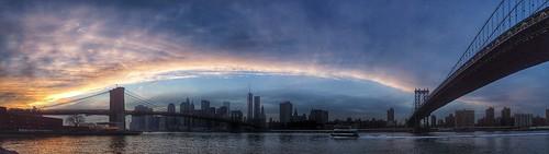 winter sunset sky panorama usa newyork us manhattan brooklynbridge manhattanbridge northamerica citylandscape nuevayork uploaded:by=flickrmobile flickriosapp:filter=nofilter