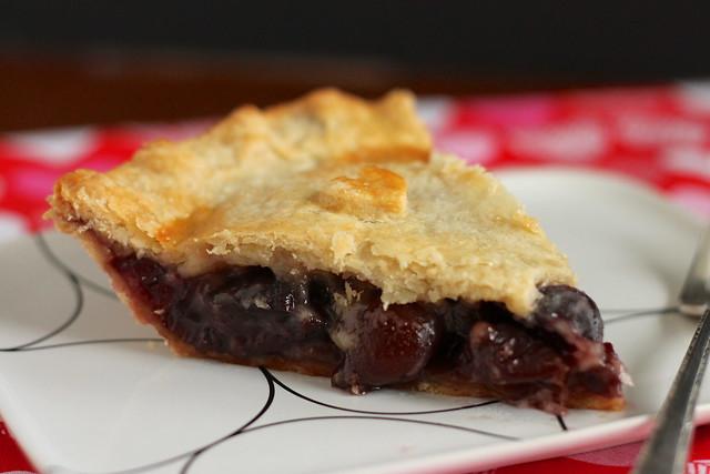 Slice of Sweet Cherry Pie #ValentinesDay