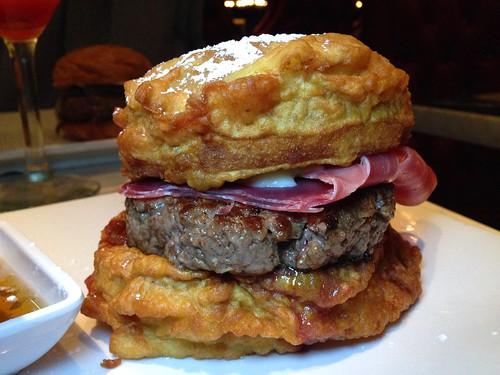 Michael Voltaggio's Monte Cristo Burger