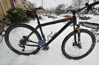 My snow bike