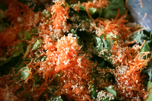 Harumi Kurihara's Crisp Salad with Grated Carrots and Ponzu Soy Dressing