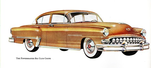 1953 DeSoto Powermaster Six Club Coupe
