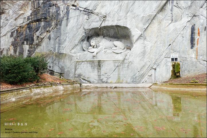 瑞士獅子紀念碑盧森