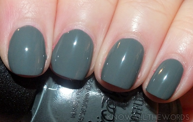 nicole by opi carrie underwood collection- Goodbye Shoes (8)
