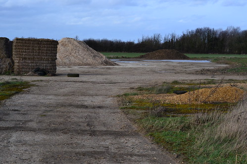 RAF Witchford holding point W-E runway
