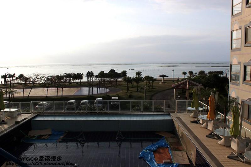 沖繩住宿 海濱公寓