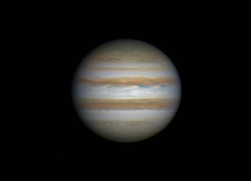 Jupiter RRGB 010314 - 18:41UTC by Mick Hyde