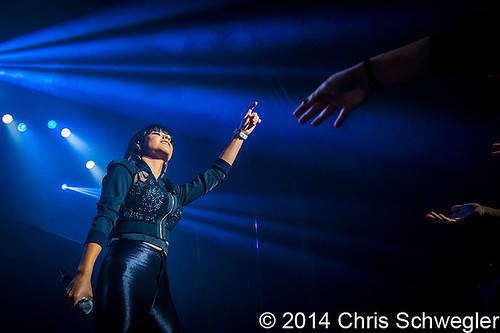 Becky G – 03-02-14 – MTV Artist to Watch Tour, Royal Oak Music Theatre, Royal Oak, MI