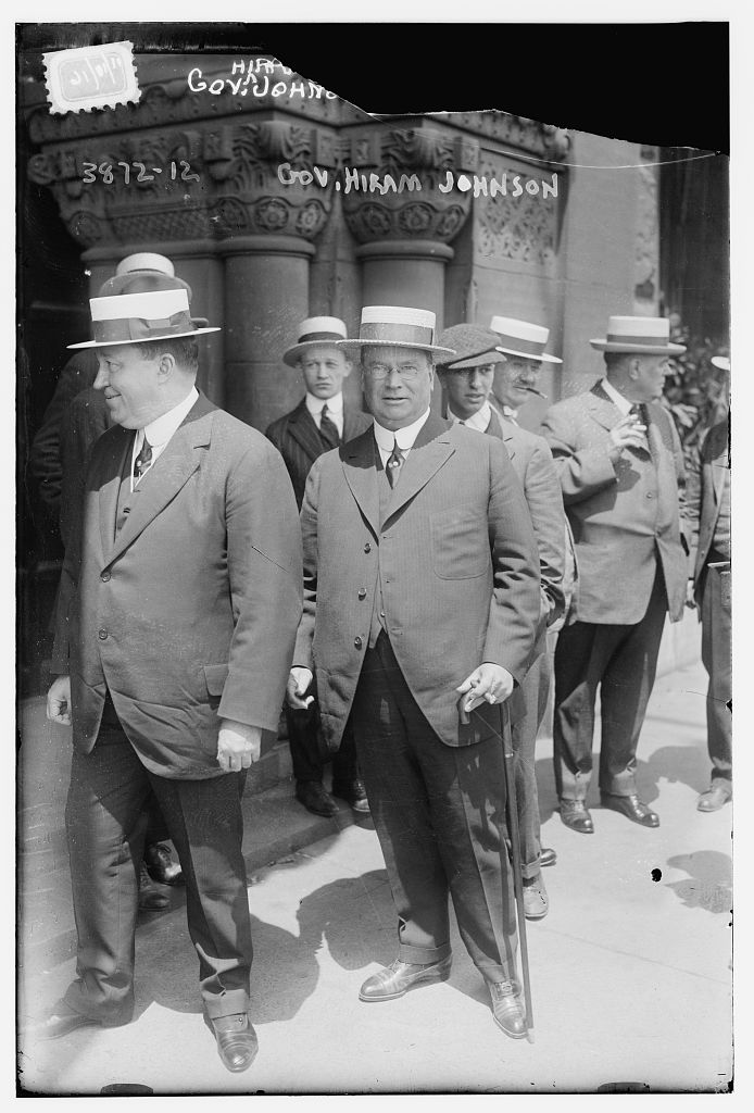 Gov. Hiram Johnson (LOC)