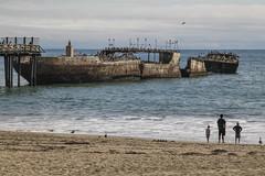 Seacliff State Beach, California