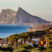 View of Gibraltar from Alcaidesa by simonnewbound