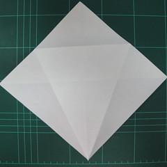 วิธีพับกระดาษเป็นรูปปลาแซลม่อน (Origami Salmon) 006