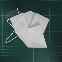 วิธีพับกระดาษเป็นรูปปลาแซลม่อน (Origami Salmon) 025
