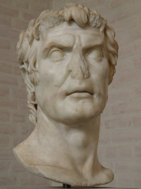 So-called bust of Sulla, Augustan copy of an original of the late 2nd century BC, Glyptothek, Munich