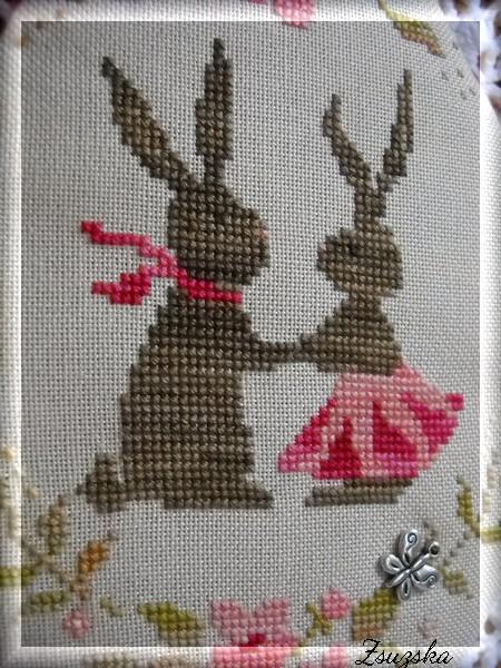 spring bunny love