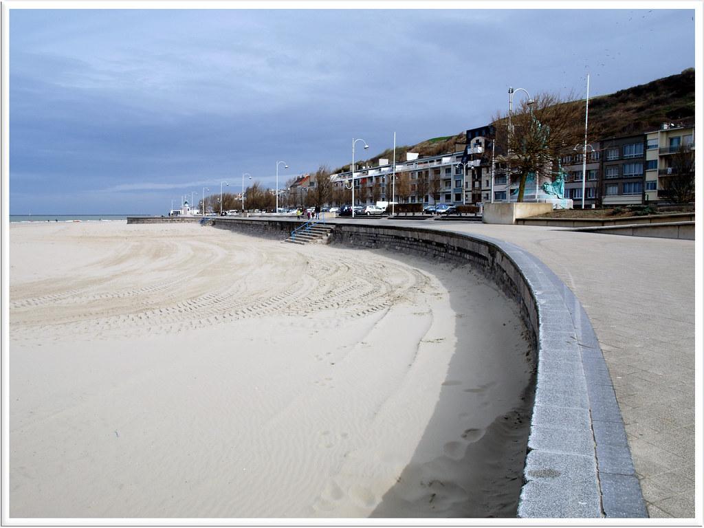 Boulogne sur mer,la plage.
