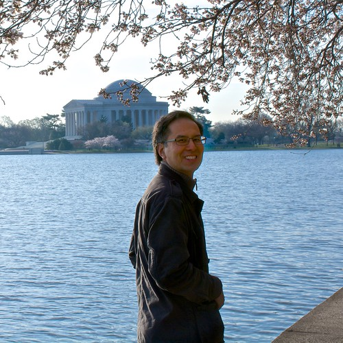 Jason Jue at the Tidal Basin by Geoff Livingston