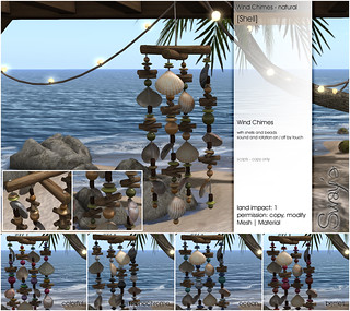 Sway's [Shell] Wind Chimes | for TLC
