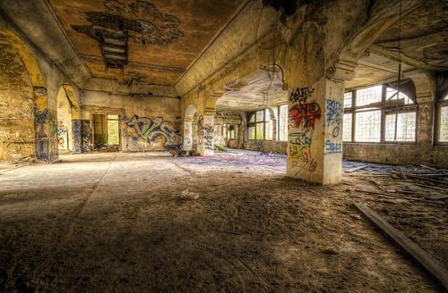 Nobody will dance here again