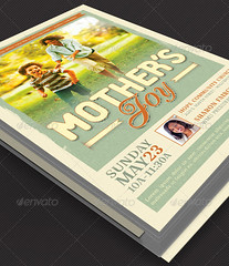 Mother's Joy Church Flyer Template