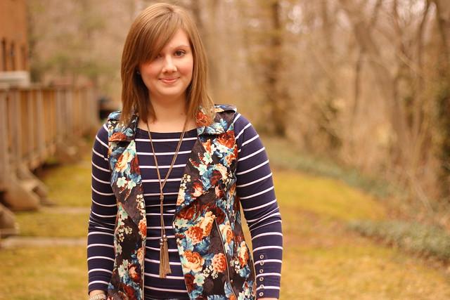 target floral vest 4