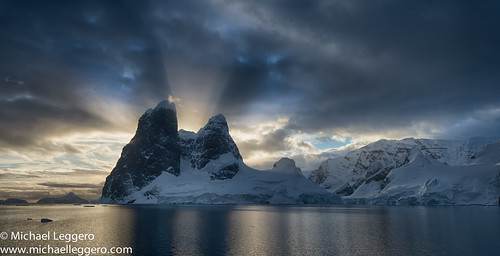 light sunset sun nature clouds sunrise landscape god south antarctica southern rays channel lemaire michaelleggero
