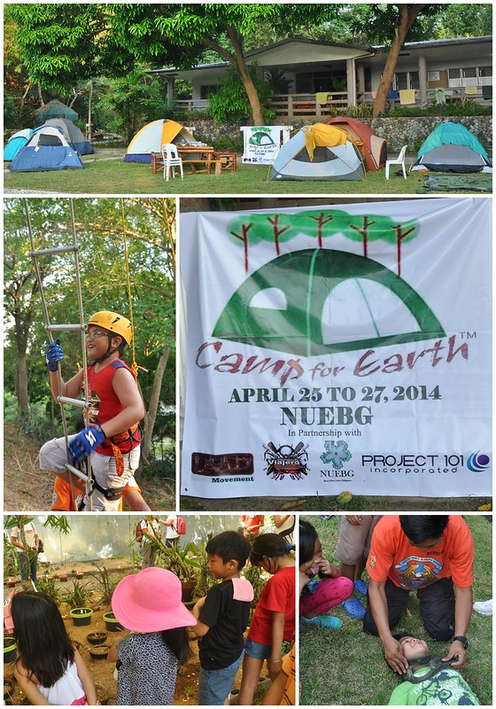 Camp for Earth collage 1
