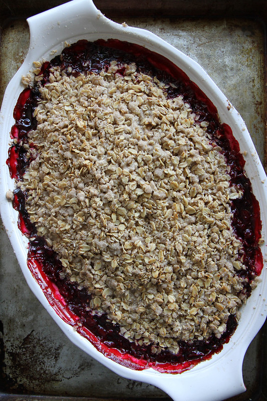 Raspberry Crisp, gluten free vegan and cane sugar free