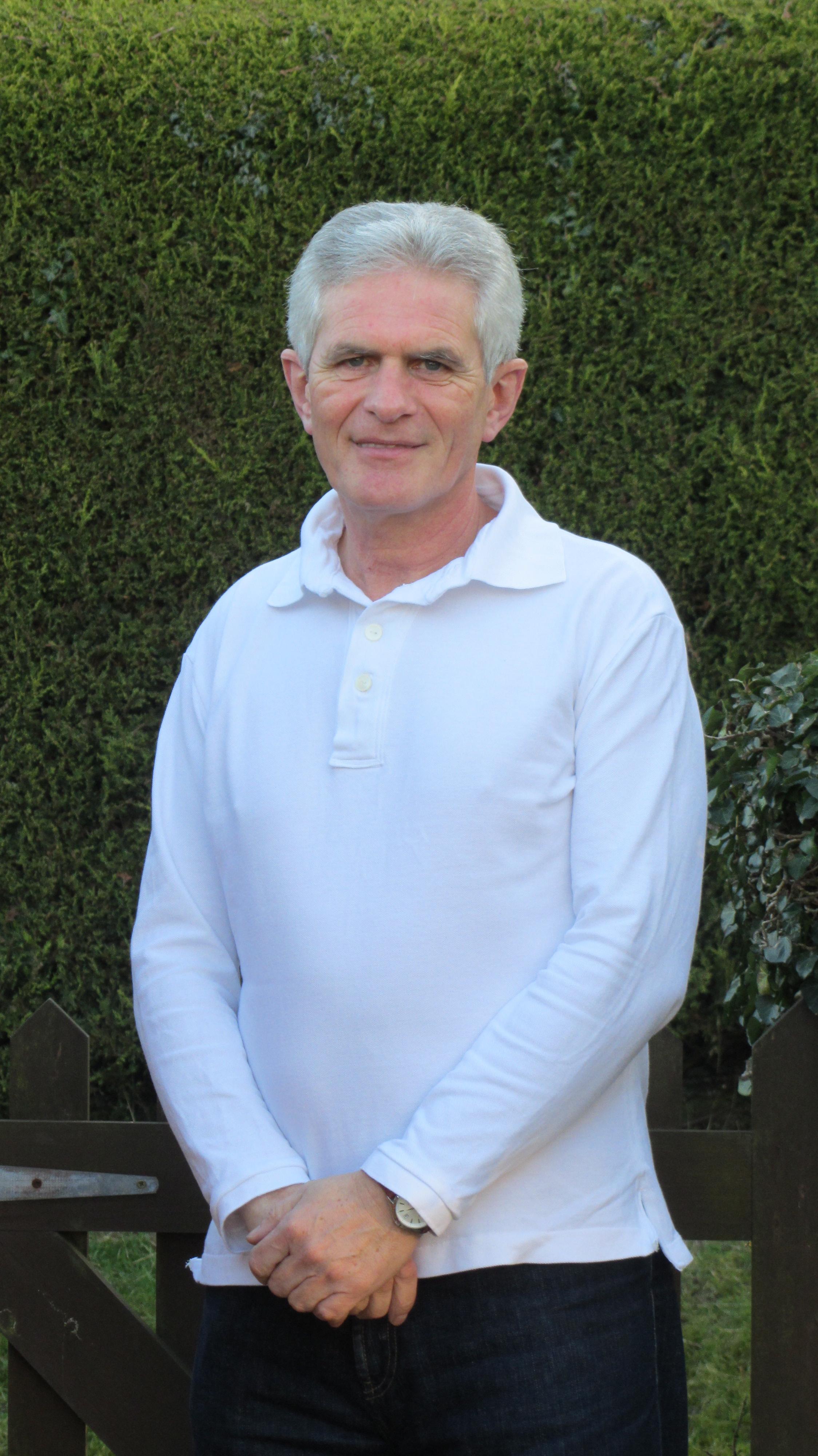 Dad's polo shirt