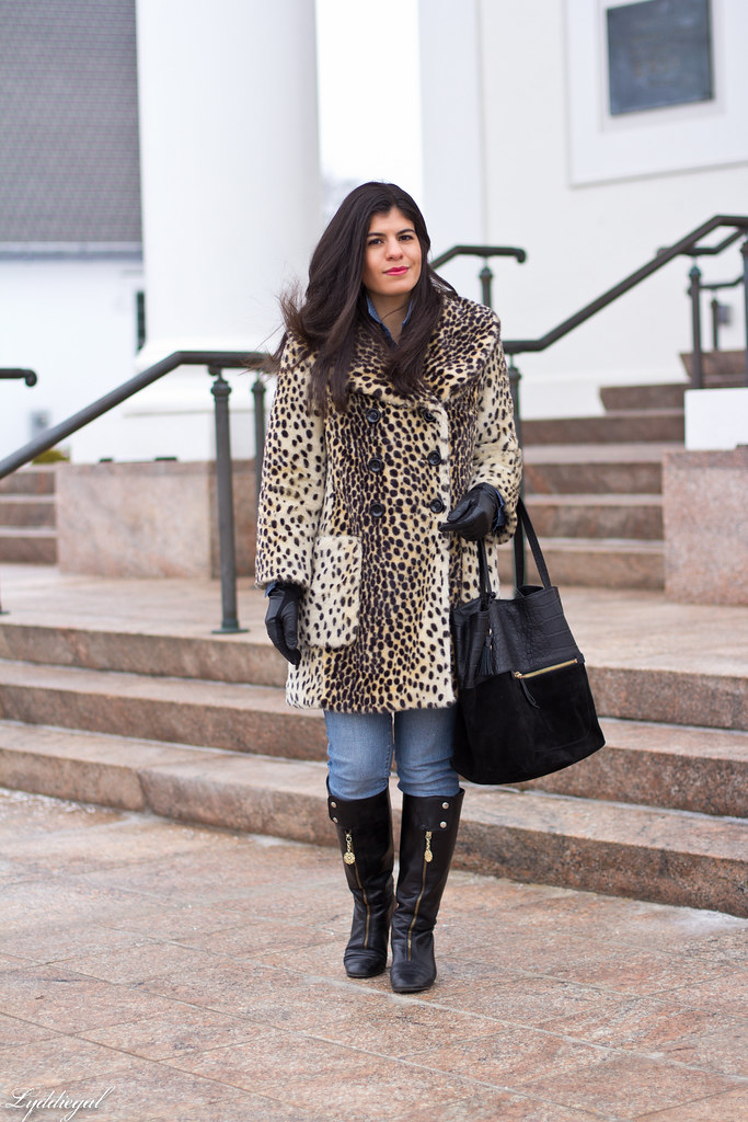 polka dot chambray, double denim, leopard coat.jpg