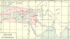 Image taken from page 37 of 'Géographie historique. Leçons en regard des cartes. Résumant l'histoire de la formation territoriale des pays civilisés et l'histoire de la civilisation, etc'
