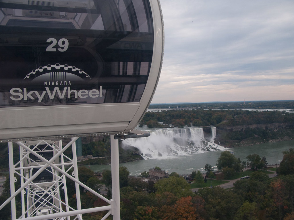 View of American Falls from Skywheel