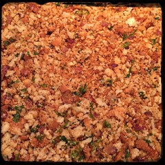 #CucinaDelloZio - #Homemade #BreadCrumbs - after some patience