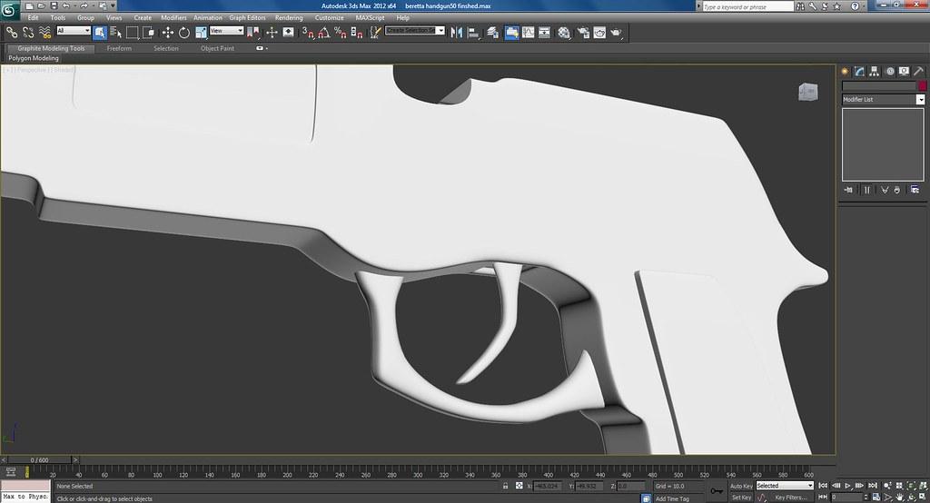 Custom Handgun Work In Progress Screenshots