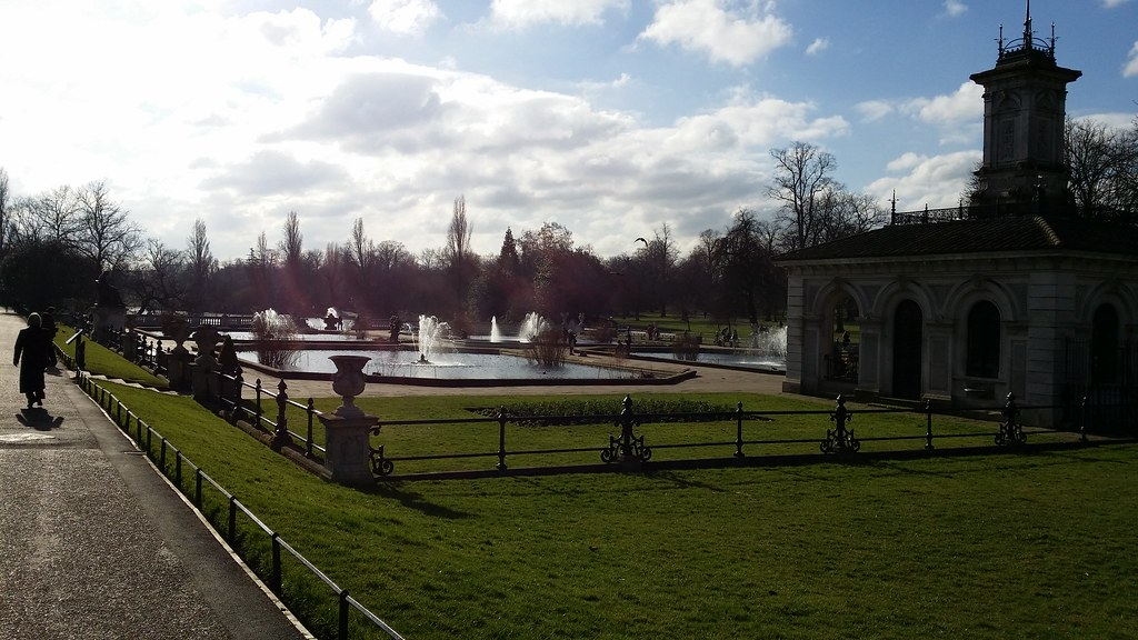 Italian Gardens, Kensington Gardens #sh