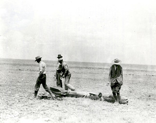 Robert Goddard's Rocket After Flight